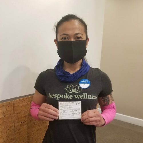 Mary Grace Justiniani  – Fully Vaccinated