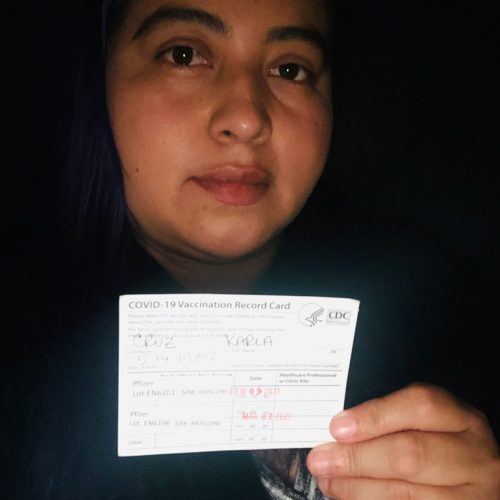 Karla Cruz – Fully Vaccinated