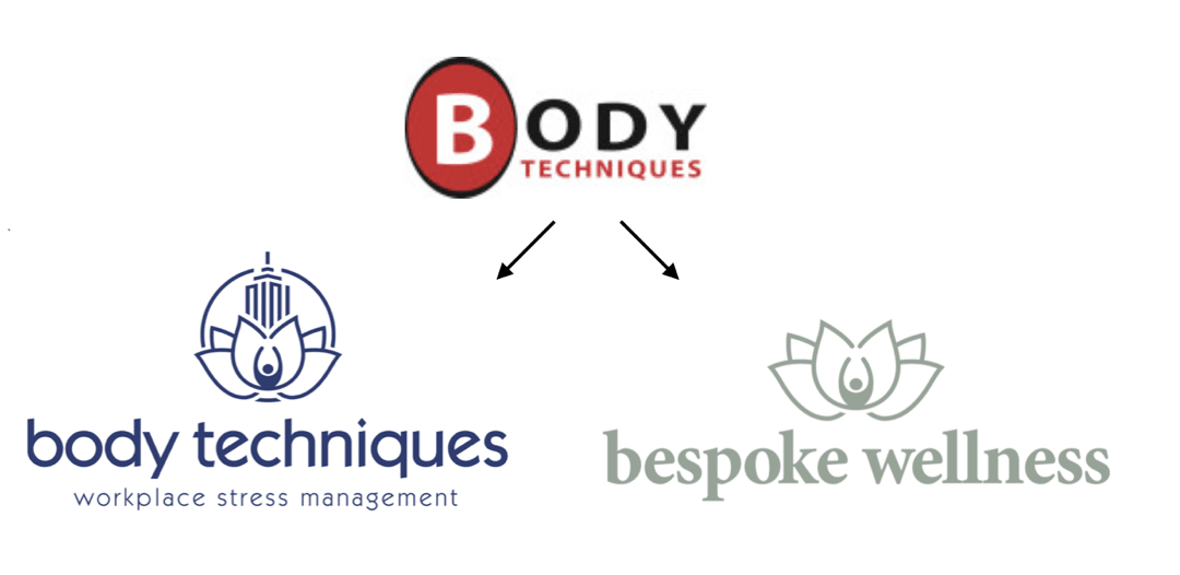 Body Techniques Alameda name change to Bespoke Wellness Happening Now.