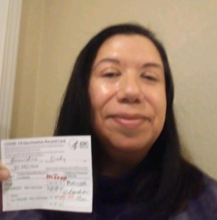 Cindy Benavidez – Fully Vaccinated